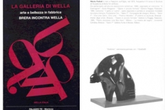 Catalogo mostra Arte e bellezza in fabbrica- La Galleria di Wella- '96