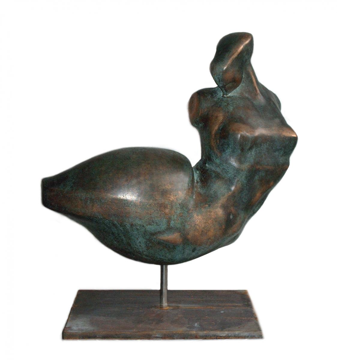 OH!CARINA- bronzo-28x26x14- 1997