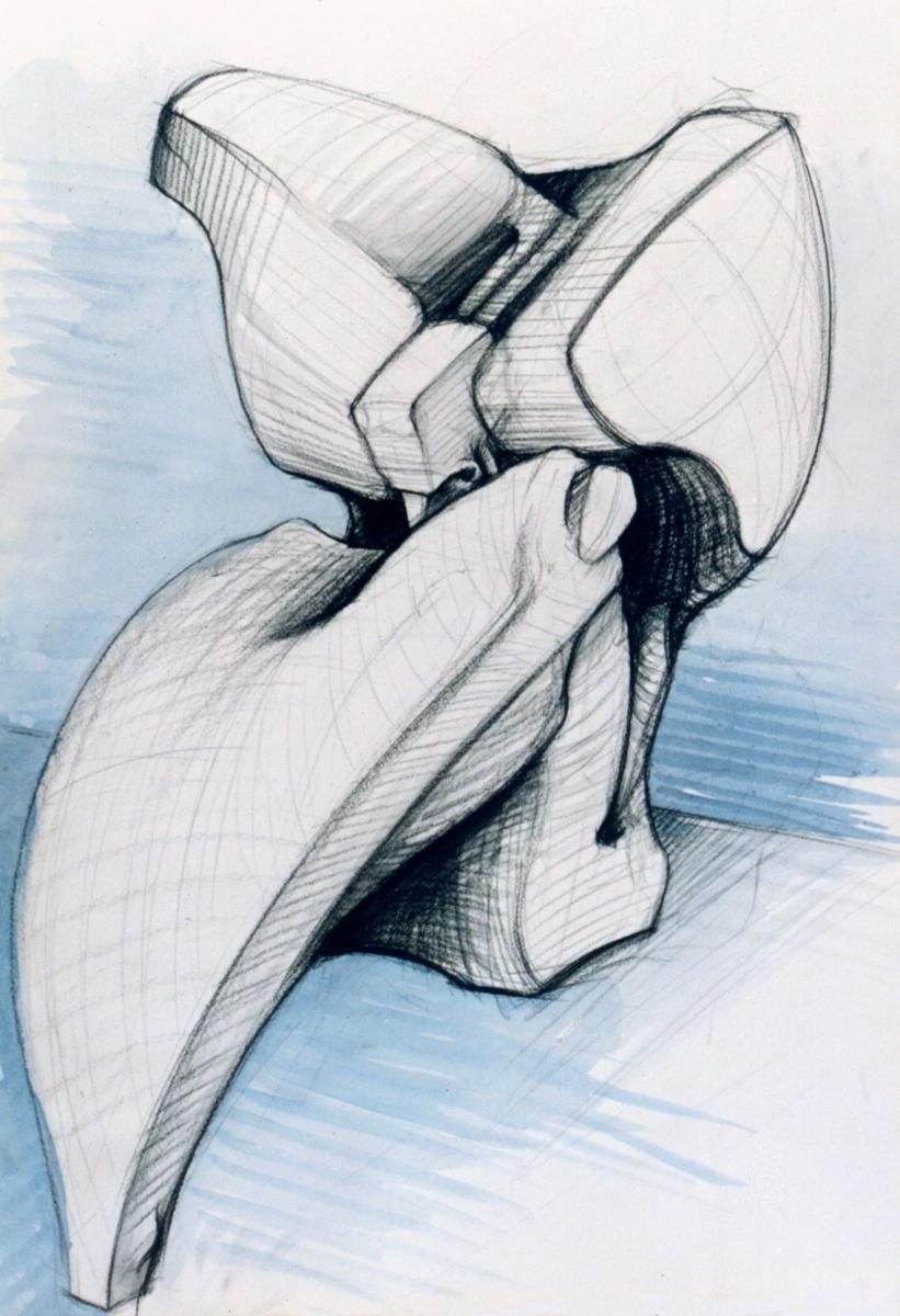 figura seduta studio