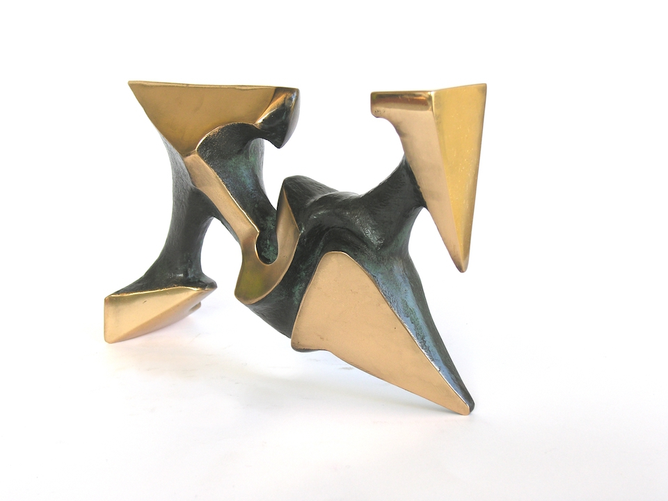 MORSA PLURIDIREZIONALE- bronzo-lato- 2005