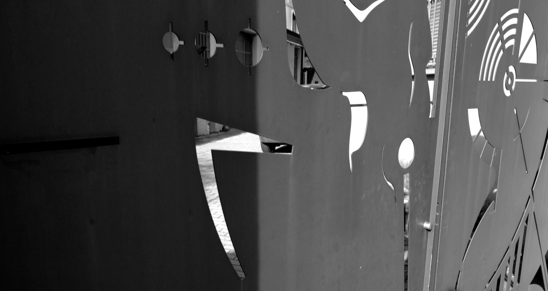 Cancello Palazzolo S:O- dettaglio-2010