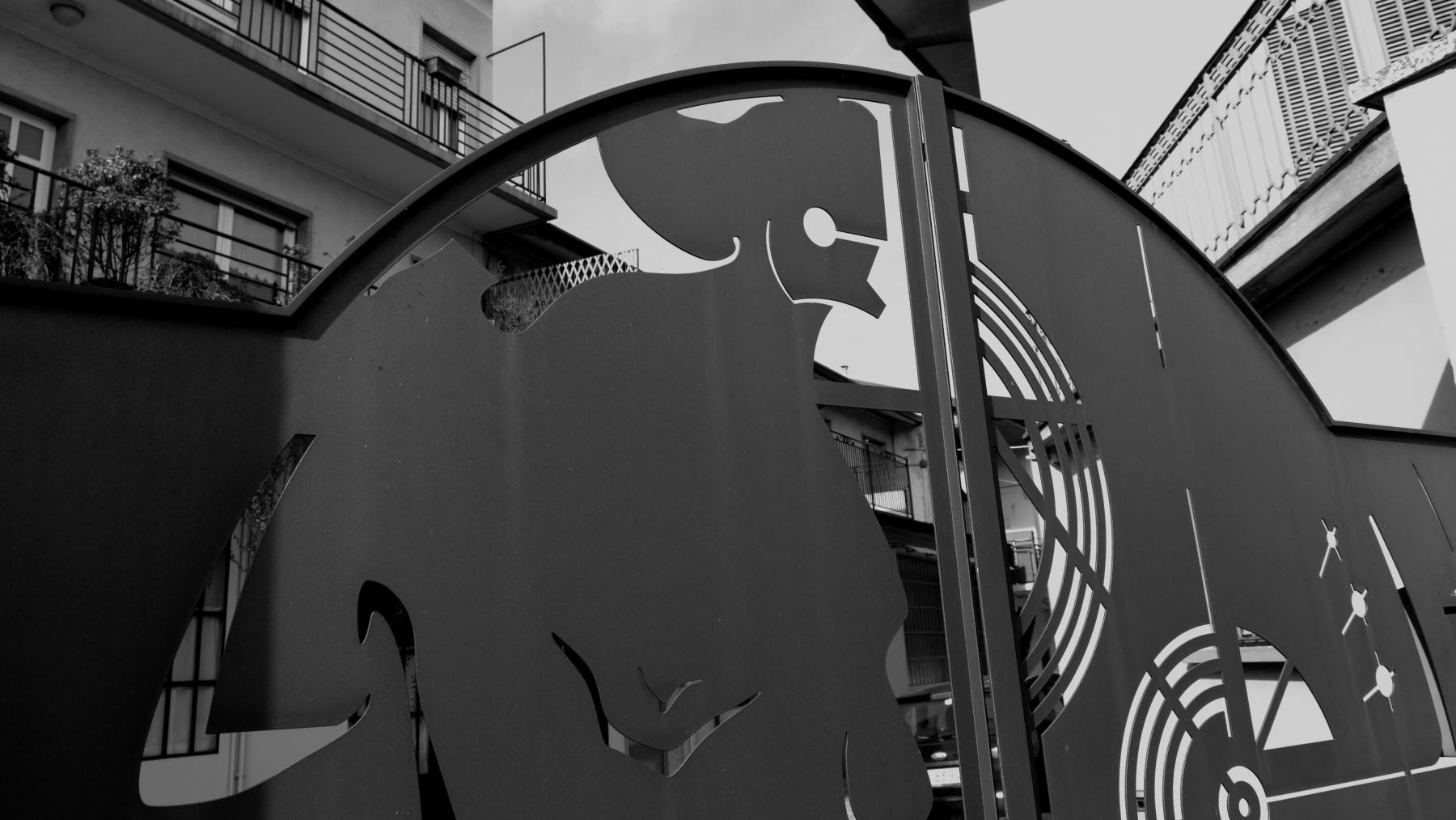 Cancello Palazzolo S:O- particolare-2010