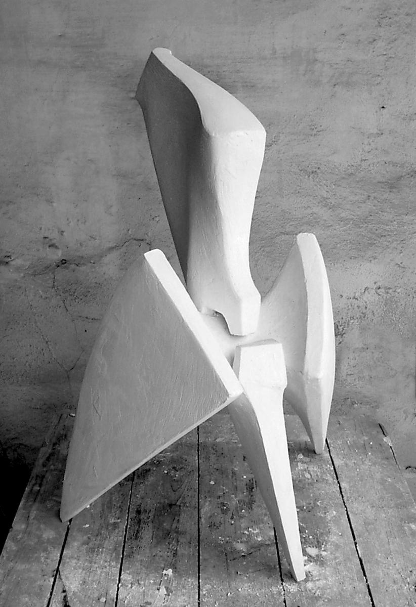 PRESA- modello in gesso-2001