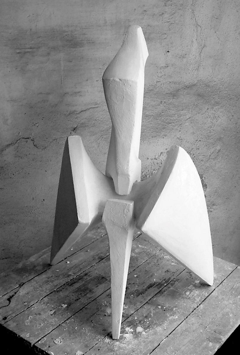 PRESA- modello in gesso- fronte-2001