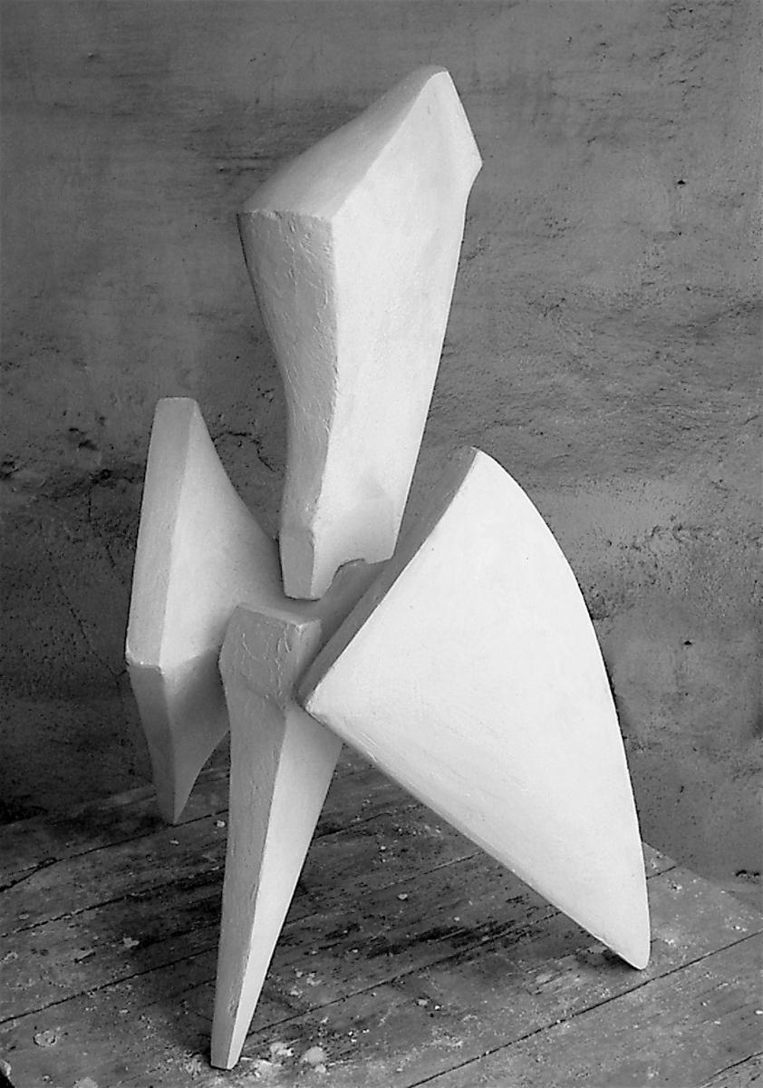 PRESA- modello in gesso- lato-2001