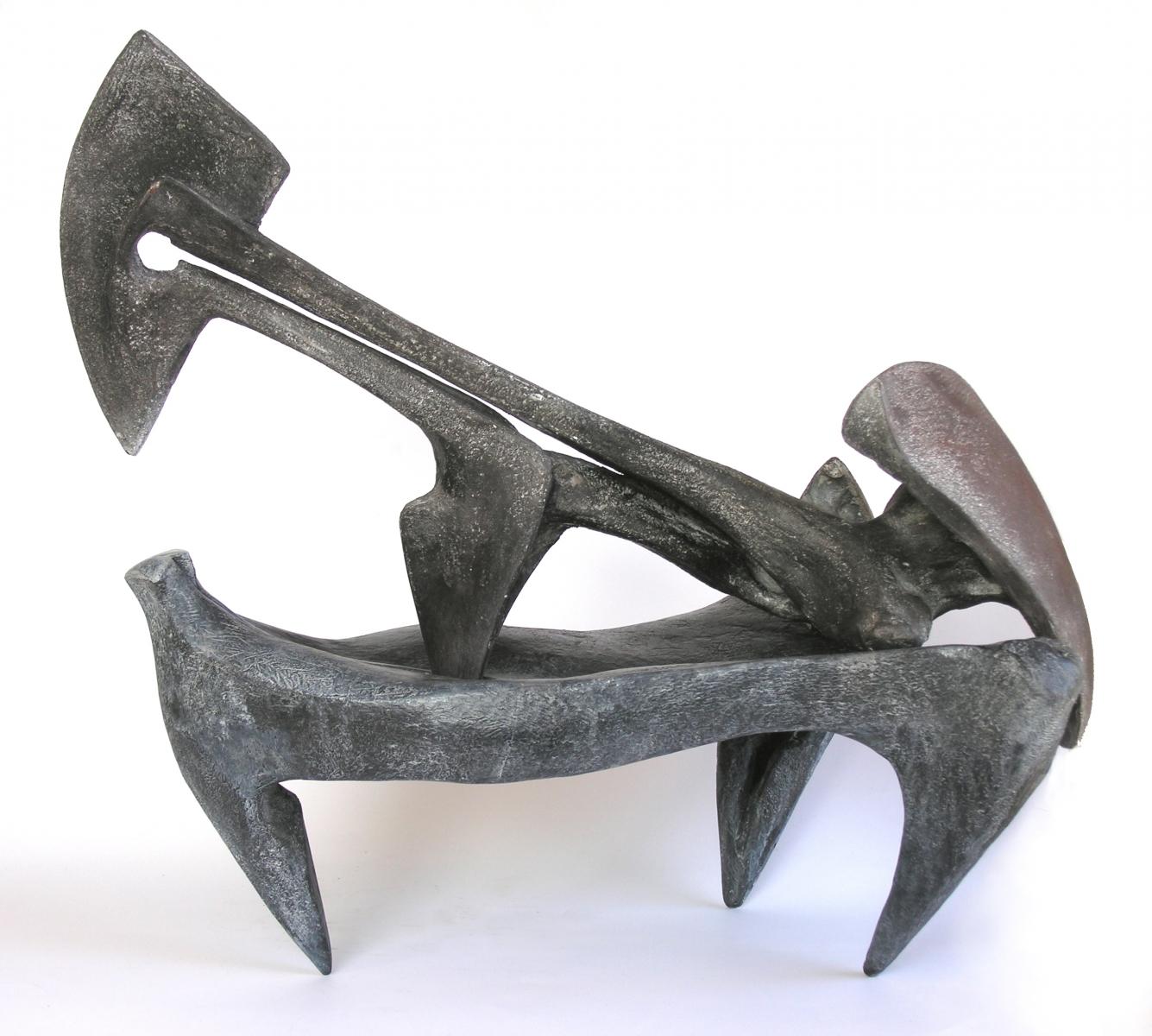 TRIVELLA - terracotta patinata- lato-2005