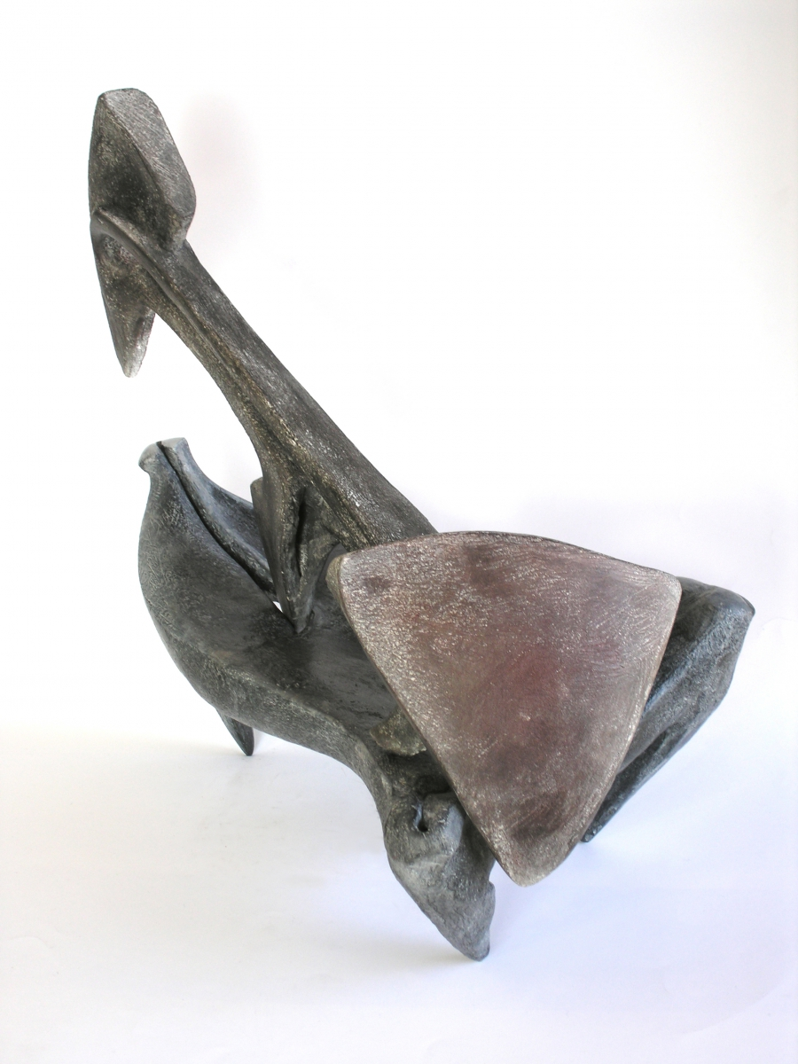 TRIVELLA - terracotta patinata- scorcio-2005